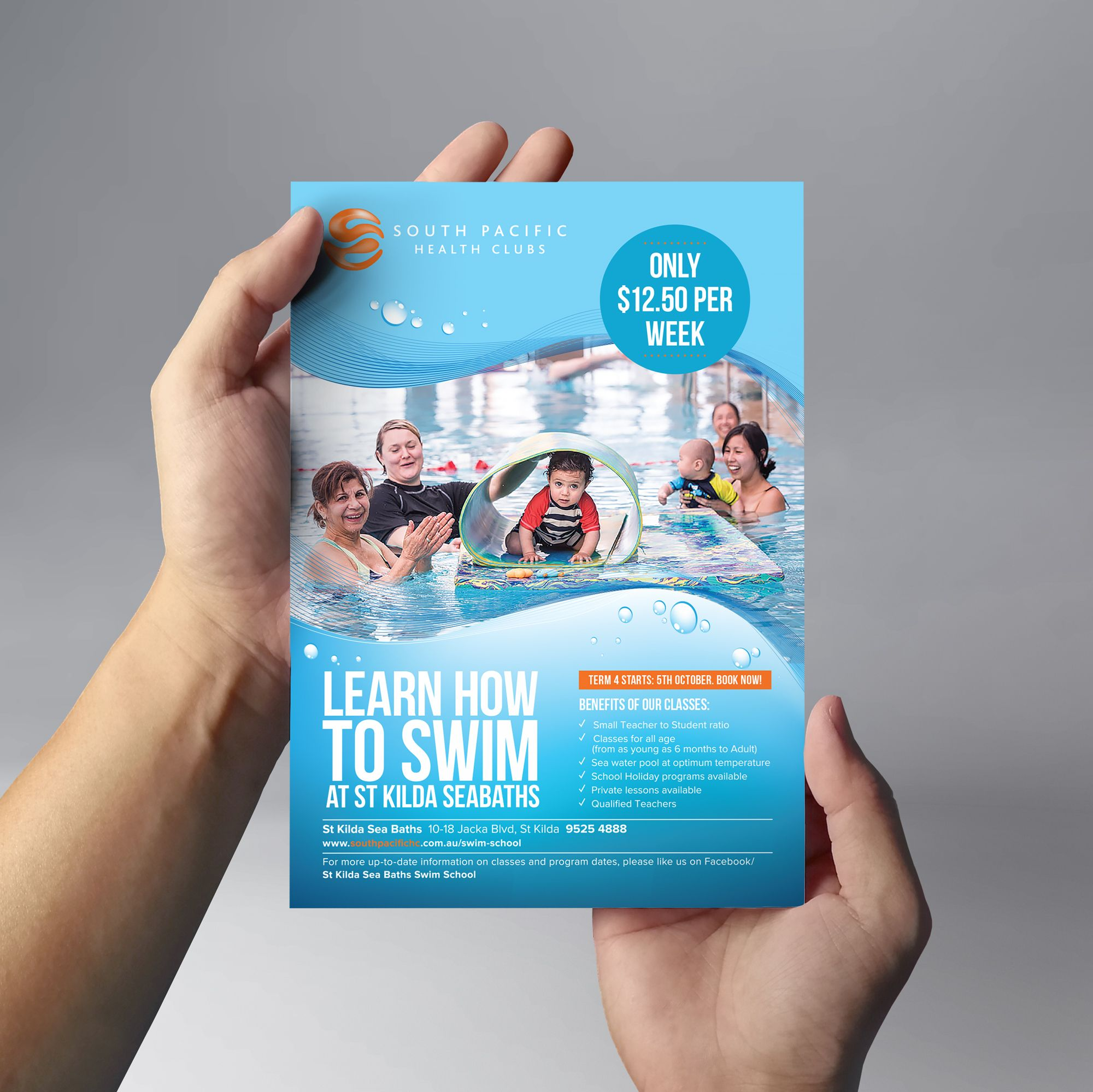 Graphic Design for Pool Companies - Business Cards, Postcards, Flyers, Brochures, Pamphlets