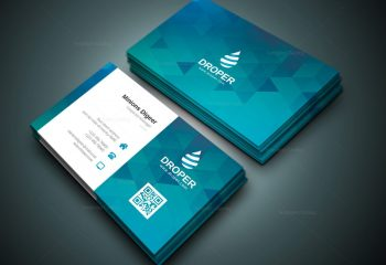 Pool Company Business Card Designers