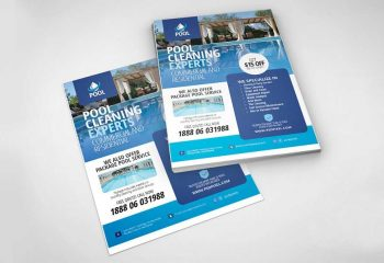 Pool Company Flyers