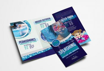 Pool Company Flyer Designers