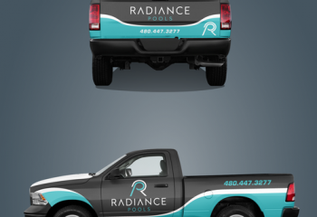 Pool Contract Truck Wraps - Pool Builder Truck Wraps
