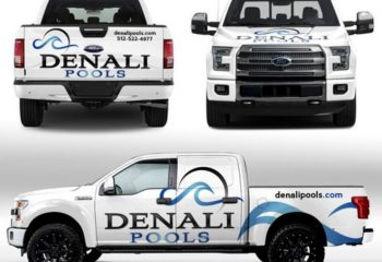 Pool Truck Wrap Designers for Pool Service, Pool Builders, Pool Repairs