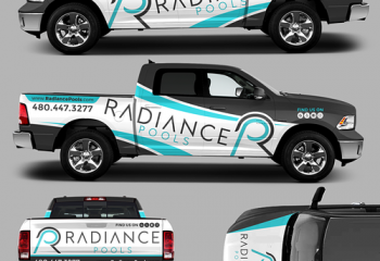 We Design Pool Truck Wraps - Contact Us For A Free Quote