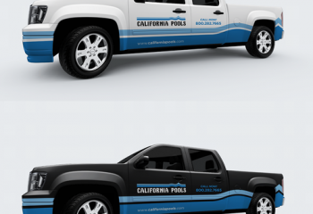 Truck Wraps For Pool Companies