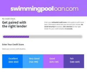 Swimming Pool Loan