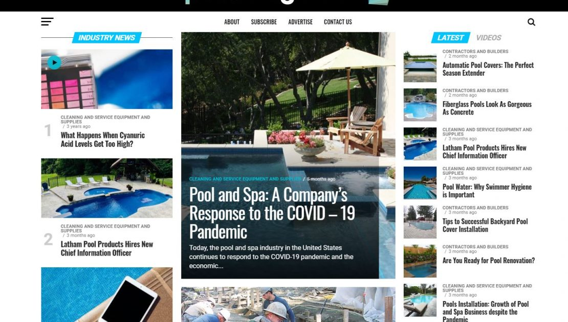 Pool Magazine - PoolMagazine.com - Pool News website
