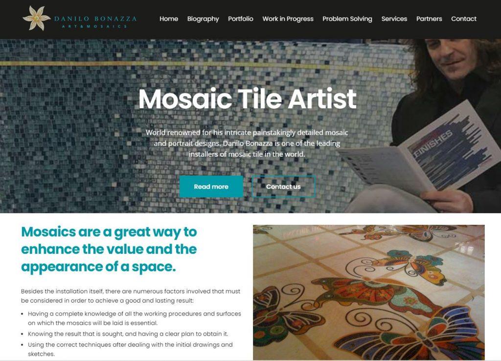 Mosaic Tile Artist