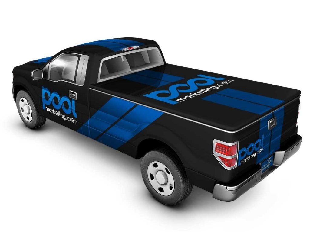 Pool Marketing Creates Truck Wraps for Pool Comanies - Pool Truck Wraps