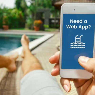 Mobile Apps - Pool Marketing specializes in developing Web Apps for pool companies. Need a custom app for your pool business?